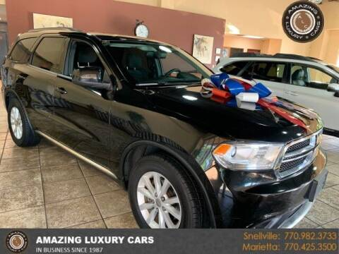 2015 Dodge Durango for sale at Amazing Luxury Cars in Snellville GA