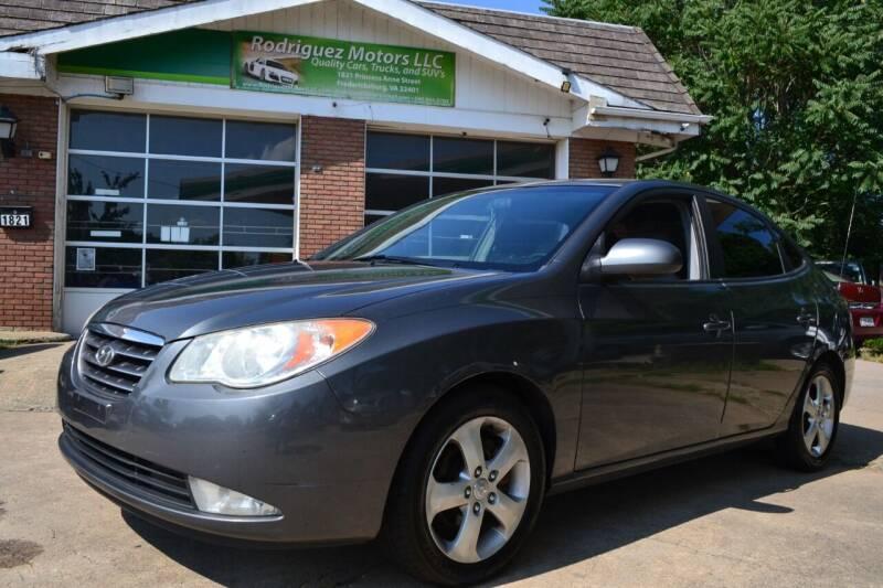 2007 Hyundai Elantra for sale at RODRIGUEZ MOTORS LLC in Fredericksburg VA