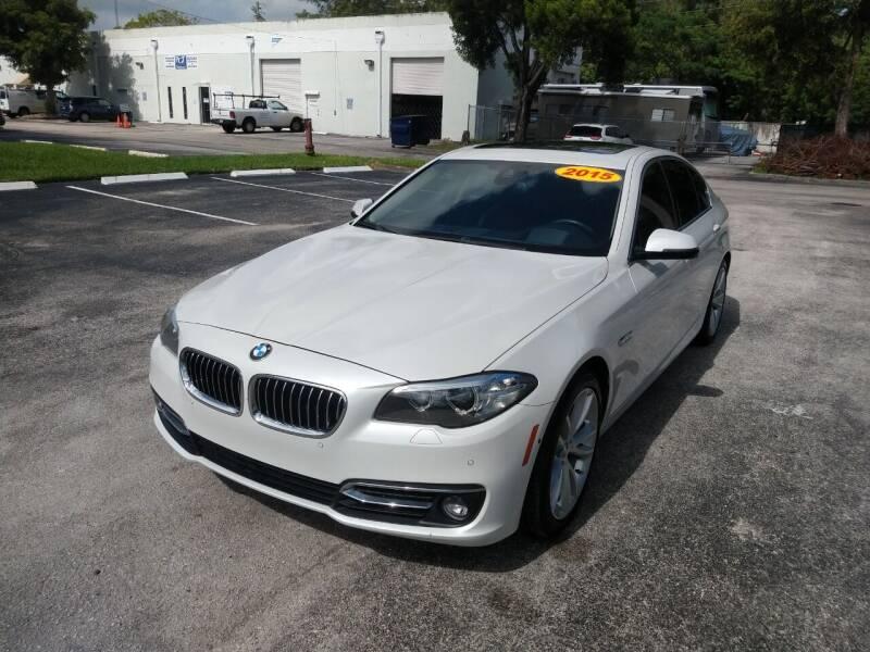 2015 BMW 5 Series for sale at Best Price Car Dealer in Hallandale Beach FL