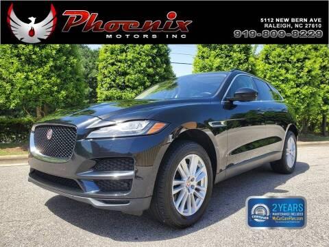 2017 Jaguar F-PACE for sale at Phoenix Motors Inc in Raleigh NC