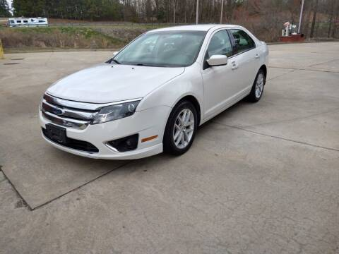 2012 Ford Fusion for sale at A&Q Auto Sales in Gainesville GA