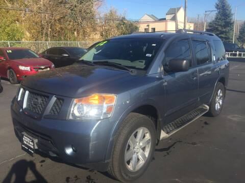 2012 Nissan Armada for sale at ROUTE 6 AUTOMAX in Markham IL