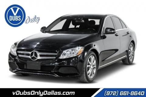 2016 Mercedes-Benz C-Class for sale at VDUBS ONLY in Dallas TX