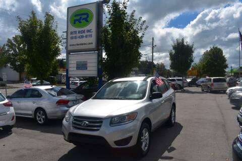 2012 Hyundai Santa Fe for sale at Rite Ride Inc in Murfreesboro TN