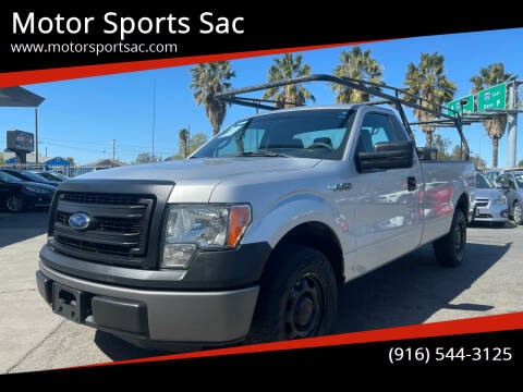 2014 Ford F-150 for sale at Motor Sports Sac in Sacramento CA