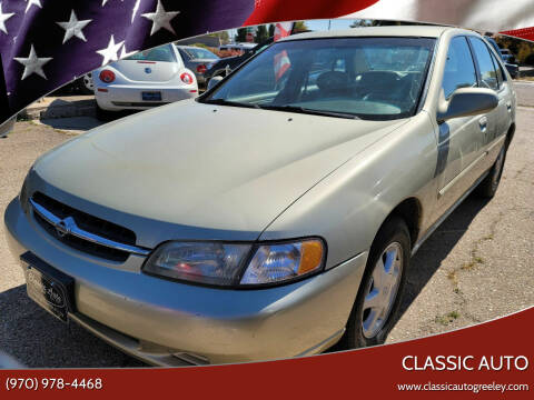 1998 Nissan Altima for sale at Classic Auto in Greeley CO