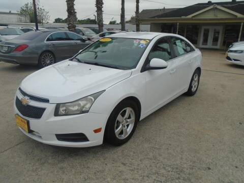 2013 Chevrolet Cruze for sale at BAS MOTORS in Houston TX
