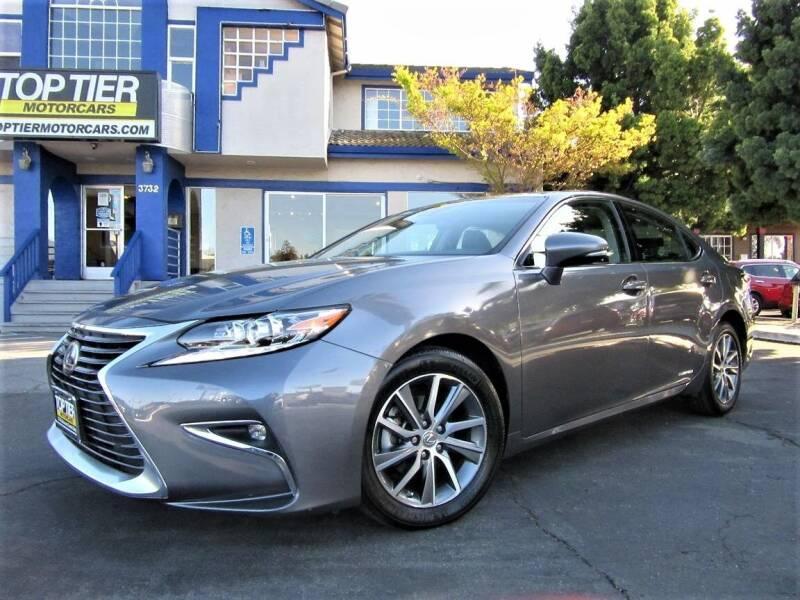 2016 Lexus ES 300h for sale at Top Tier Motorcars in San Jose CA