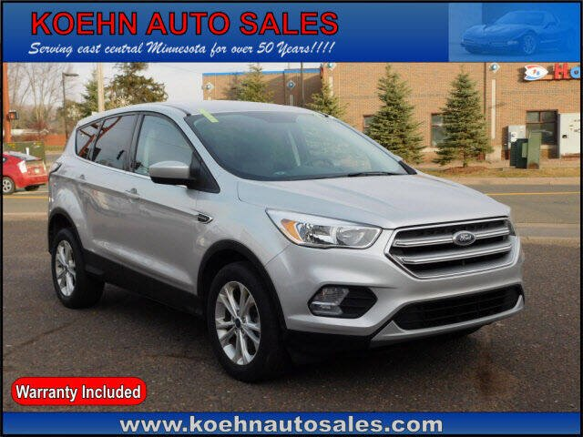 2017 Ford Escape for sale at Koehn Auto Sales in Lindstrom MN