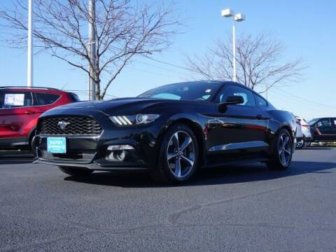 2015 Ford Mustang for sale at BASNEY HONDA in Mishawaka IN