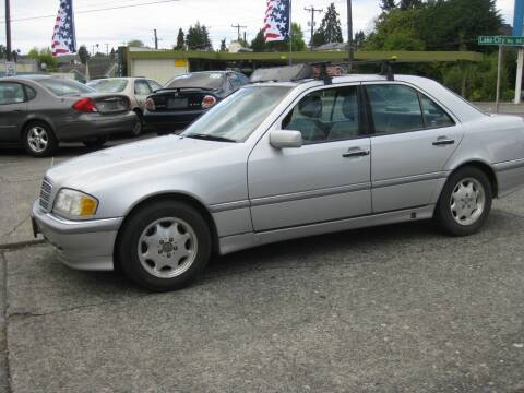 1998 Mercedes-Benz C-Class for sale at UNIVERSITY MOTORSPORTS in Seattle WA