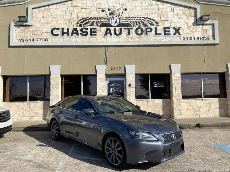 2014 Lexus GS 350 for sale at CHASE AUTOPLEX in Lancaster TX