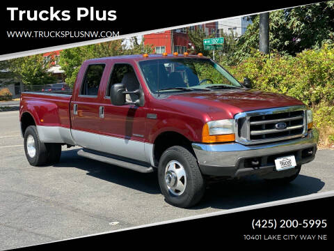 1999 Ford F-350 Super Duty for sale at Trucks Plus in Seattle WA