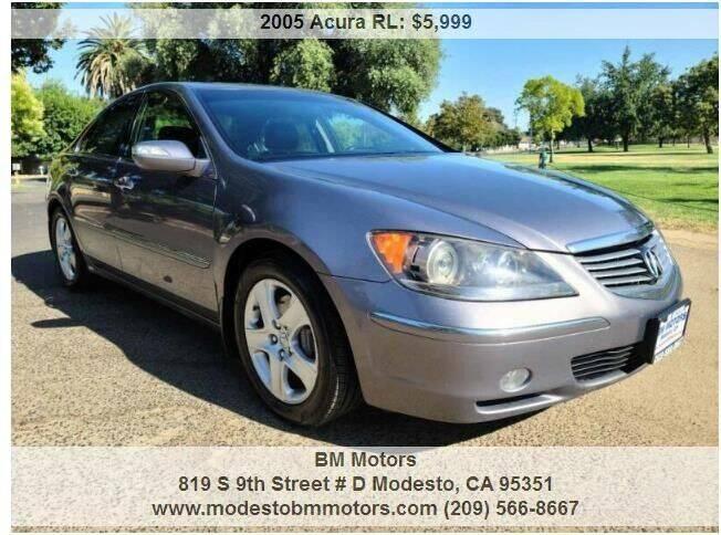 2005 Acura RL for sale at BM Motors in Modesto CA