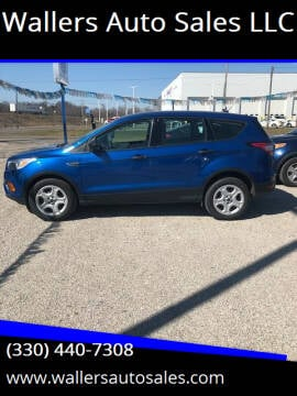 2017 Ford Escape for sale at Wallers Auto Sales LLC in Dover OH
