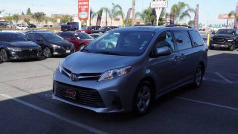 2018 Toyota Sienna for sale at Choice Motors in Merced CA