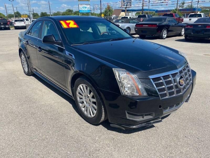 2012 Cadillac CTS for sale at HALEMAN AUTO SALES in San Antonio TX