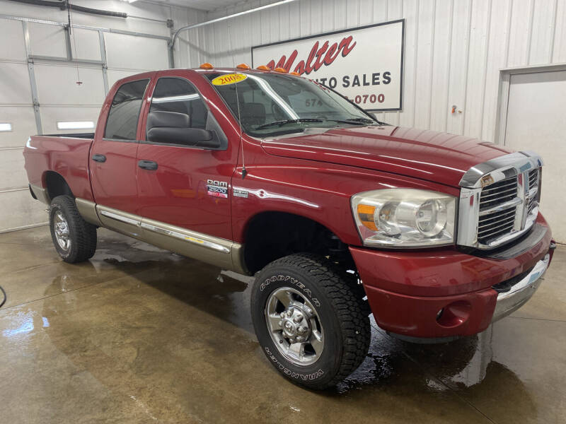 2008 Dodge Ram Pickup 2500 for sale at MOLTER AUTO SALES in Monticello IN