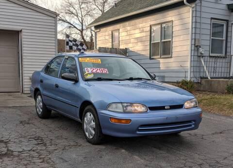 1996 GEO Prizm for sale at Budget City Auto Sales LLC in Racine WI