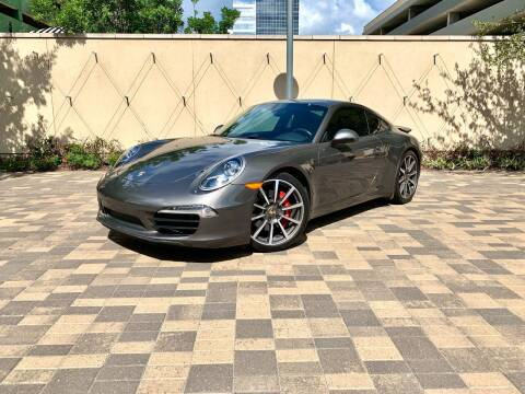 2014 Porsche 911 for sale at ROGERS MOTORCARS in Houston TX