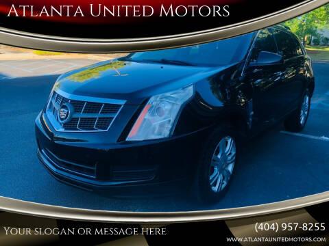 2010 Cadillac SRX for sale at Atlanta United Motors in Buford GA