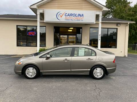 2008 Honda Civic for sale at Carolina Auto Credit in Youngsville NC