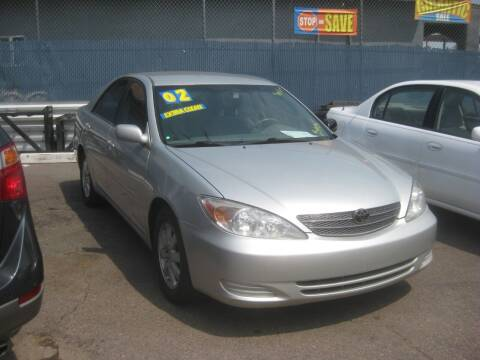 2002 Toyota Camry for sale at Town and Country Motors - 1702 East Van Buren Street in Phoenix AZ