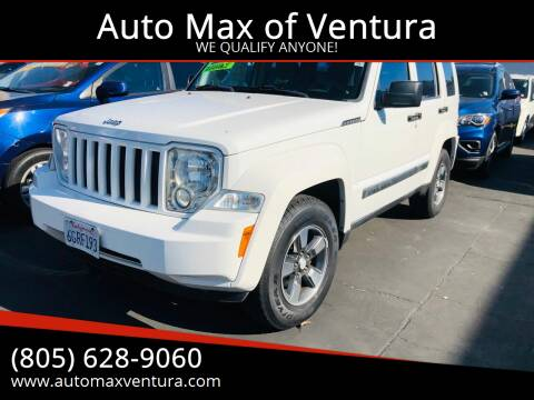2008 Jeep Liberty for sale at Auto Max of Ventura in Ventura CA