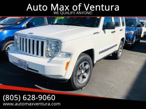 2008 Jeep Liberty for sale at Auto Max of Ventura in Ventura CA
