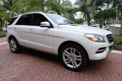 2014 Mercedes-Benz M-Class for sale at Choice Auto in Fort Lauderdale FL