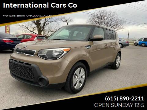 2015 Kia Soul for sale at International Cars Co in Murfreesboro TN