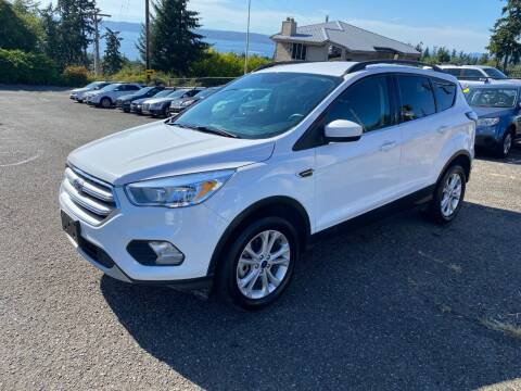 2018 Ford Escape for sale at KARMA AUTO SALES in Federal Way WA
