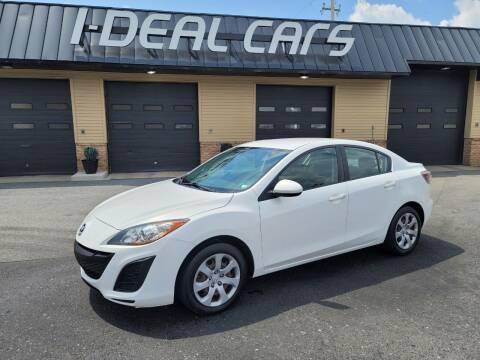 2011 Mazda MAZDA3 for sale at I-Deal Cars in Harrisburg PA