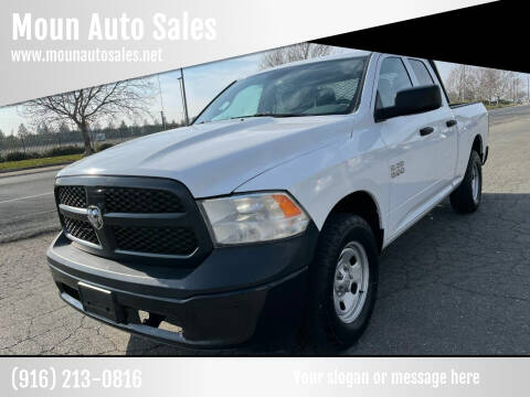 2013 RAM Ram Pickup 1500 for sale at Moun Auto Sales in Rio Linda CA