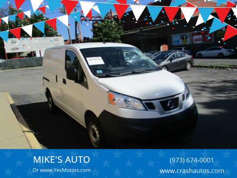 2015 Nissan NV200 for sale at MIKE'S AUTO in Orange NJ