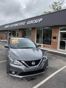 2017 Nissan Sentra for sale at Jones Automotive Group in Jacksonville NC