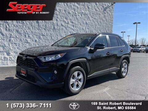 2019 Toyota RAV4 for sale at SEEGER TOYOTA OF ST ROBERT in St Robert MO
