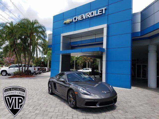 2018 Porsche 718 Cayman for sale in Coconut Creek, FL