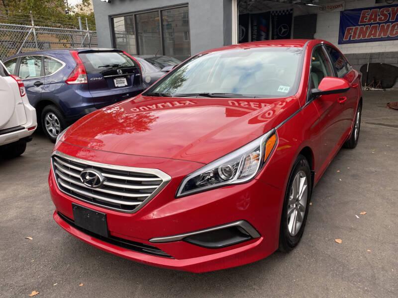 2017 Hyundai Sonata for sale at DEALS ON WHEELS in Newark NJ