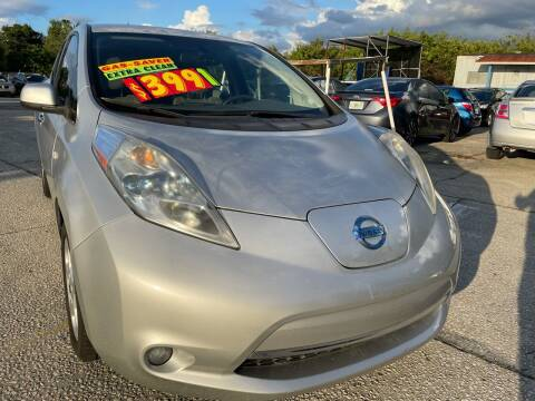 2012 Nissan LEAF for sale at Auto Export Pro Inc. in Orlando FL