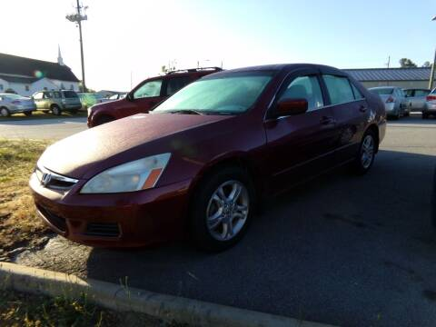 2006 Honda Accord for sale at Creech Auto Sales in Garner NC