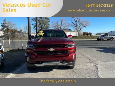 2017 Chevrolet Silverado 1500 for sale at Velascos Used Car Sales in Hermiston OR