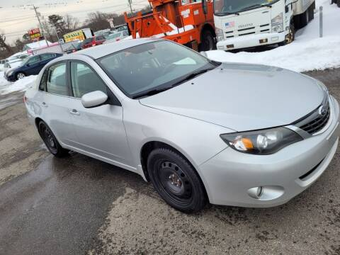 2008 Subaru Impreza for sale at JG Motors in Worcester MA