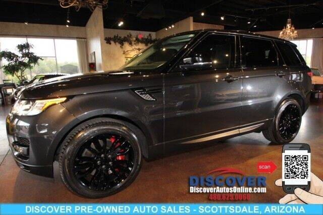 2015 Land Rover Range Rover Sport for sale at Discover Pre-Owned Auto Sales in Scottsdale AZ