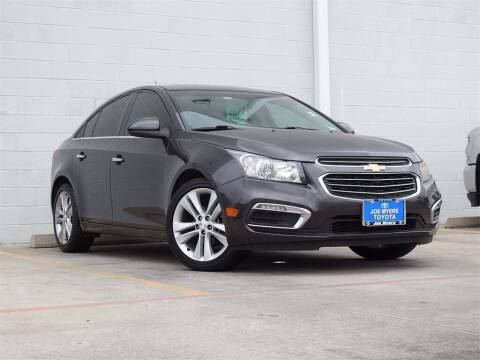 2016 Chevrolet Cruze Limited for sale at Joe Myers Toyota PreOwned in Houston TX