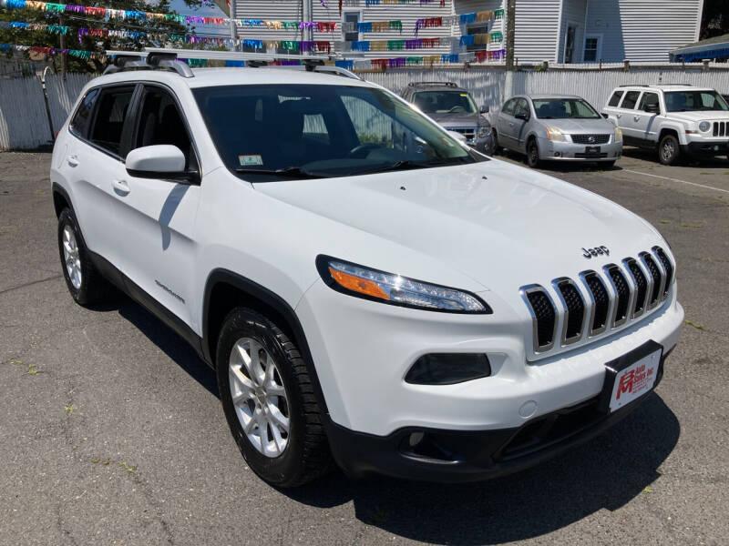 2014 Jeep Cherokee for sale at B & M Auto Sales INC in Elizabeth NJ