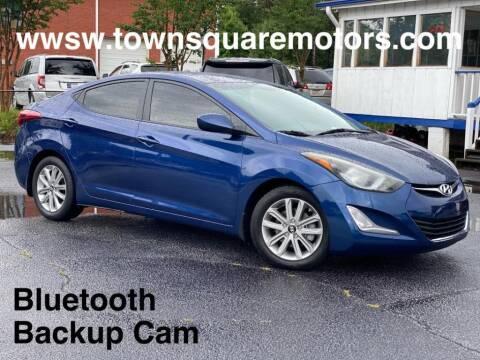 2016 Hyundai Elantra for sale at Town Square Motors in Lawrenceville GA