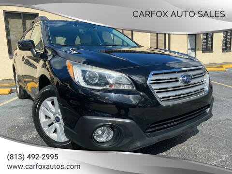2017 Subaru Outback for sale at Carfox Auto Sales in Tampa FL