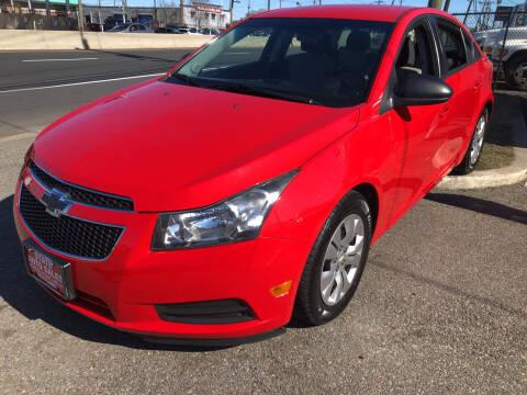 2014 Chevrolet Cruze for sale at STATE AUTO SALES in Lodi NJ