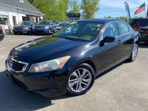 2008 Honda Accord for sale at East Windsor Auto in East Windsor CT
